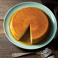 Caramelized Orange Pumpkin Flan