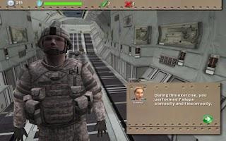 Screenshot of C130 Safety Procedures Demo
