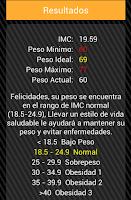 Screenshot of Peso Perfecto