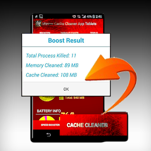 Cache Cleaner Master App - screenshot