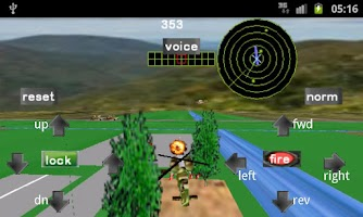 Screenshot of Armour Battle Helicopter