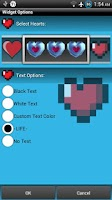 Screenshot of Heart Container Battery Meter