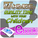 Maximise quality time for kids icon