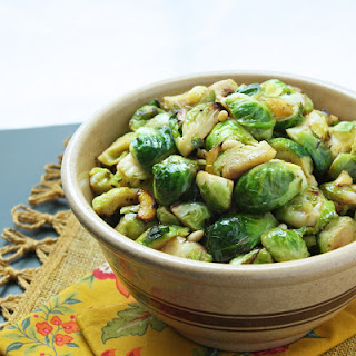 Brussels Sprouts with Lemon and Pine Nuts