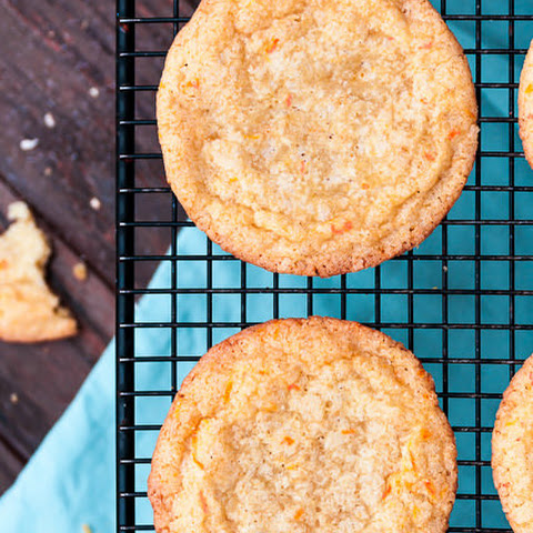 Chewy Grapefruit Sugar Cookies