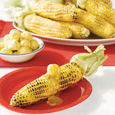 Grilled Corn on the Cob with Citrus Butter