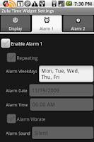 Screenshot of Zulu Time Desktop Widget
