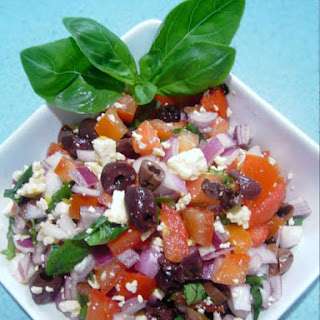 Salad With Feta Cheese And Olives Recipes