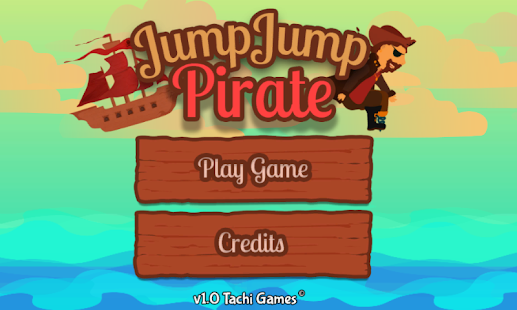 JumpJump Pirate - screenshot