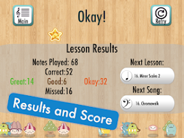 Screenshot of Note Teacher Kids