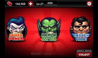 Screenshot of Video Poker Casino™