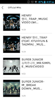 Screenshot of Super Junior (SuJu) Club