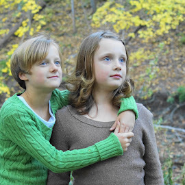 Sisters by Janice Poole - Babies & Children Child Portraits