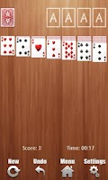 Screenshot of Solitaire Deluxe
