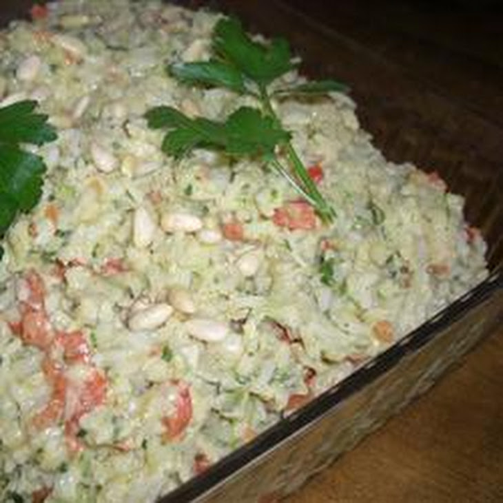 Curry Artichoke Rice Salad Recipe — Dishmaps