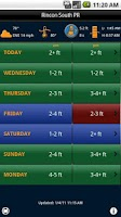 Screenshot of Swell Info Surf Forecast