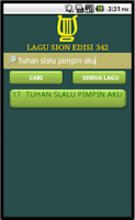 Screenshot of LAGU SION EDISI LENGKAP