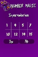 Screenshot of Number Magic Puzzle