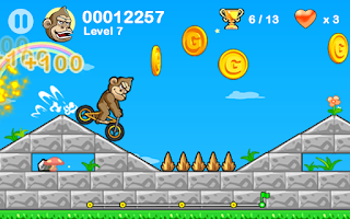 Screenshot of BMX Crazy Bike 2
