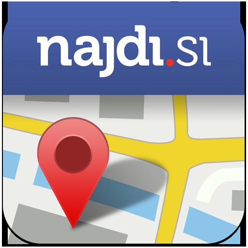 Android aplikacija Najdi.si Zemljevid na Android Srbija