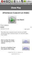 Screenshot of Classical Music Radio Lite