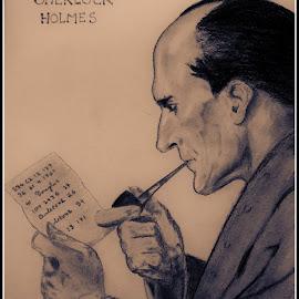 Sherlock Holmes by Samrat Biswas - Drawing All Drawing