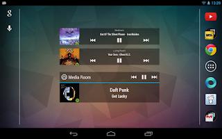 Screenshot of Sonos Widget Pro