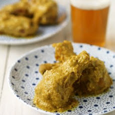 Mighty Mustard Wings Recipe