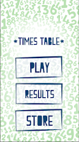 Screenshot of Times Table - educational app!