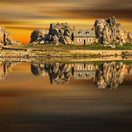 The rock II by Sid Liateni  - Landscapes Waterscapes