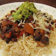 Super Quick Black Beans and Rice