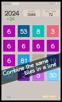 Screenshot of 2048 New Challenge