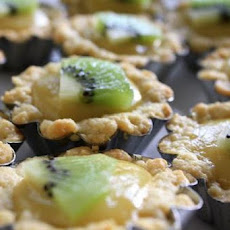 Kiwi-Cream Cheese Tart