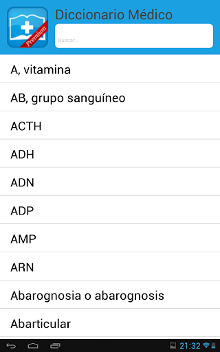 Diccionario Médico - screenshot