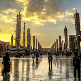 Madinah Afternoon by Dimas Pamungkas - City,  Street & Park  Street Scenes ( madinah )