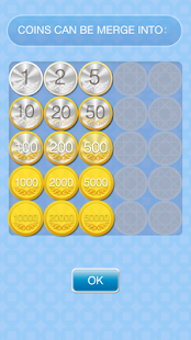 10000cents-merge gold coins - screenshot