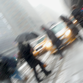 A Snowy NYC by Rob Kovacs - Novices Only Street & Candid (  )