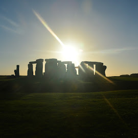 Stonehenge by Mandy Dale - Novices Only Landscapes