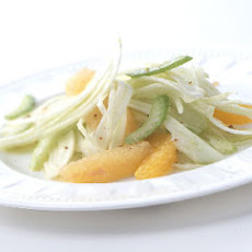 Citrus, Celery, and Shaved Fennel Salad