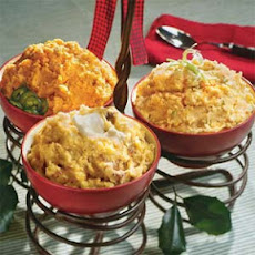 Southwest Mashed Sweet Potatoes