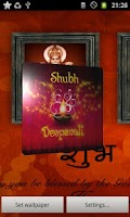 Screenshot of Shubh Diwali 3D Live Wallpaper
