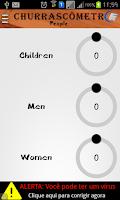 Screenshot of Calculator of Barbecue