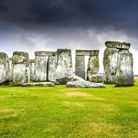 Old Stones by Mihai Popa - Buildings & Architecture Statues & Monuments ( stonehenge, marea britanie, anglia )