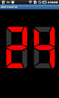 Screenshot of Shot Clock 24 Free