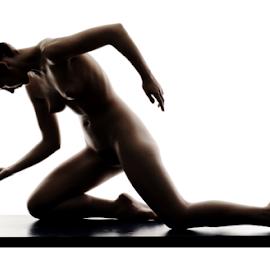 Silhouette by Vineet Johri - Nudes & Boudoir Artistic Nude ( vkumar, silhouette nude, art nude, shadows in nude, madam bink, body shapes nude )