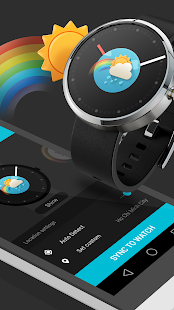 Slick Watchface - with weather