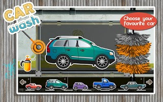 Screenshot of Car Wash Paint Design Mechanic