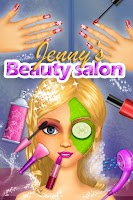 Screenshot of Jenny's Beauty Salon and SPA