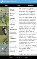 Screenshot of Audubon Birds Pro