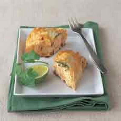 Thai Salmon Filo Parcels - sponsored by Singha Beer